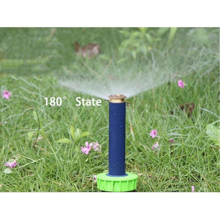 90-360 Degree 4Pcs Copper Nozzle Automatic Retractable Spray