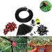 90Pcs 1/4Inch Adjustable Micro Drip Watering kits