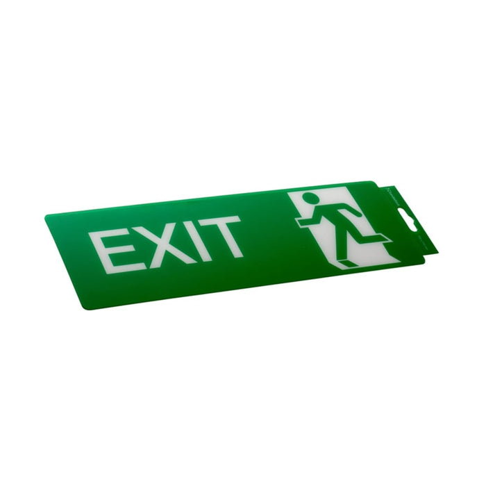Self Adhesive Exit Sign goslash fast delivery fast delivery