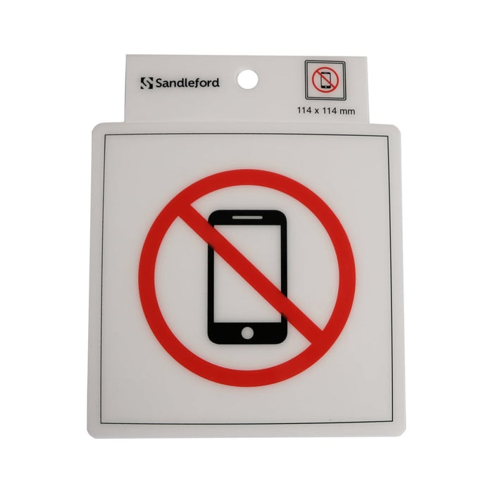 Self Adhesive No Phones Symbol Sign goslash fast delivery fast delivery