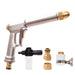 Adjustable High Pressure Metal Car Wash Sprayer Gun Wg70001
