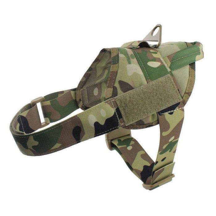 Adjustable K9 Walking Dog Harness Collar Vest MCP Harness /