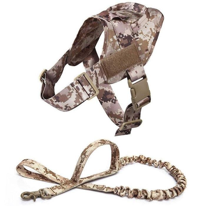 Adjustable K9 Walking Dog Harness Collar Vest DDC Harness