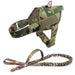Adjustable K9 Walking Dog Harness Collar Vest MCP Harness