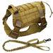 Adjustable Training Dog Vest with Handle Mud Set / S