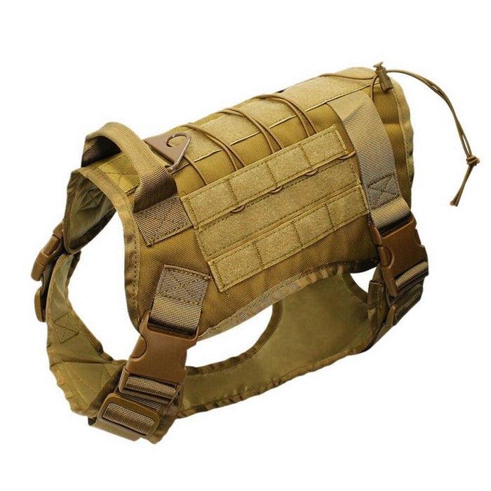 Adjustable Training Dog Vest with Handle Mud / S