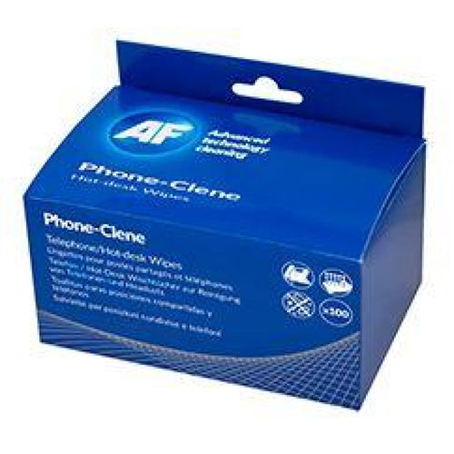 AF Phone-Clene Anti-Bacterial Phone Wipes Box - 100 Cleaning