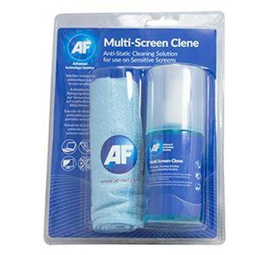AF Screen-Clene + Large Microfibre Cloth - 200ml Cleaning