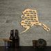 The Last Frontier Alaska Wine Cork Map Wine Cork Traps State of Alaska Decorative Wooden Organizer Cork Holder Display Wall Map
