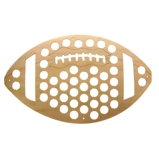 American Football Beer Cap Map Rugby Ball Wooden Cap Trap Wine Cap Holder Cap Collection Wall Art Display Map Wine Lovers Gift