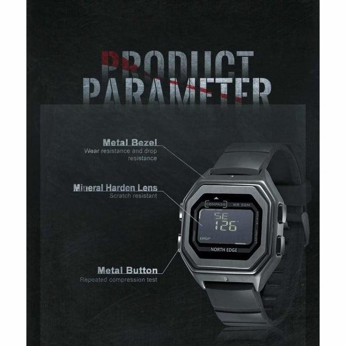 Army Style Waterproof 50M Men's Watch