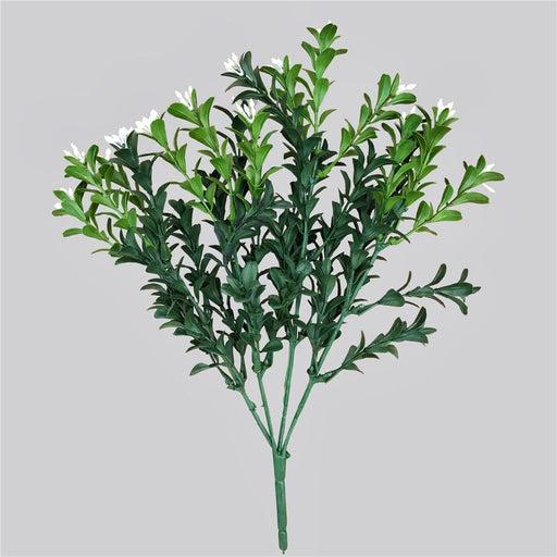 Artificial Flowering Boxwood Stem 30cm