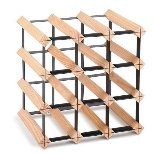 Artiss 12 Bottle Timber Wine Rack - Home & Garden > Storage