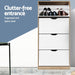 Artiss 48 Pairs Shoe Cabinet Rack Organiser Storage Shelf