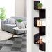 Artiss 5 Tier Corner Wall Floating Shelf Mount Display