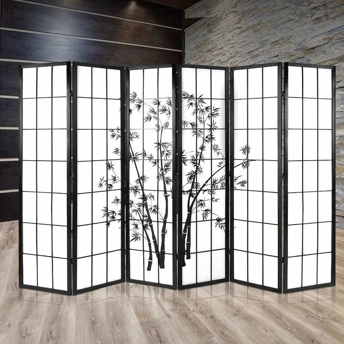 Artiss 6 Panel Room Divider Screen Privacy Dividers Pine