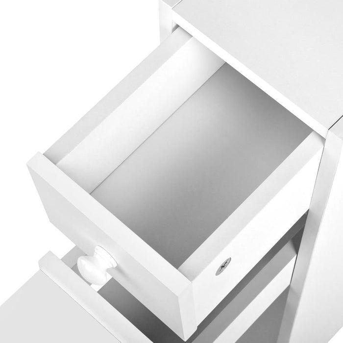 Bathroom Storage Cabinet White goslash fast delivery fast delivery