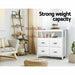 Artiss Buffet Sideboard Cabinet Storage Cupboard White