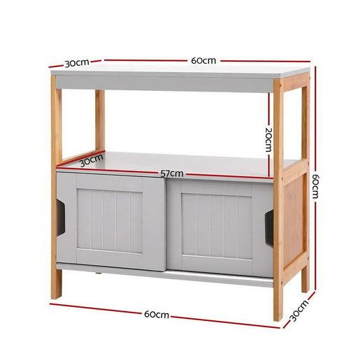 Artiss Buffet Sideboard Cabinet Storage Shelf Cupboard