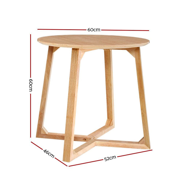 Artiss Coffee Table Round side Tables Nightstand Bedside