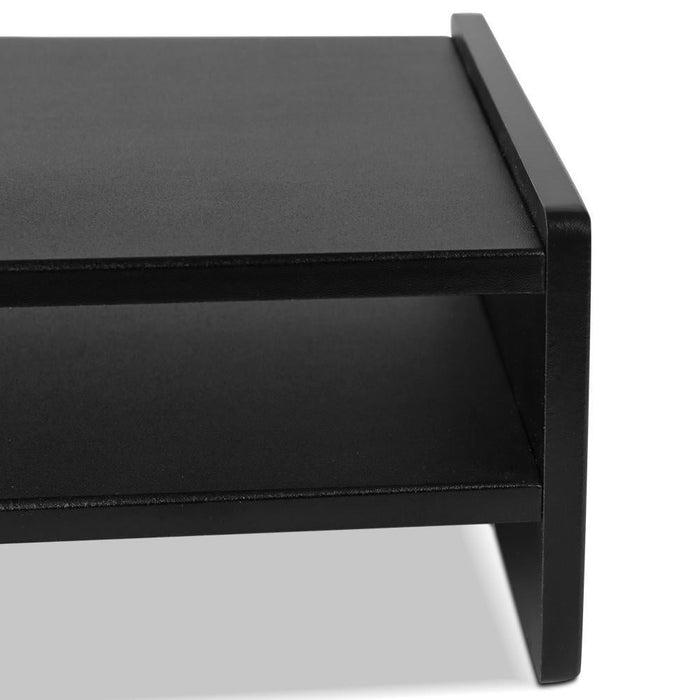 Artiss Computer Monitor Riser - Black goslash fast delivery fast delivery