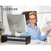 Artiss Computer Monitor Riser - Black - Audio & Video > TV