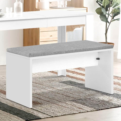Artiss Dining Bench Upholstery Seat Stool Chair Cushion