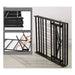 Artiss Foldable Double Metal Bed Frame - Black - Furniture >