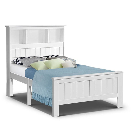 Artiss King Single Wooden Timber Bed Frame