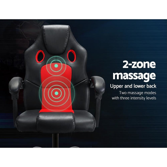Artiss Massage Office Chair Gaming Computer Seat Recliner