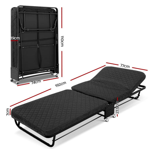 Artiss Portable Foldable Bed - Furniture > Outdoor