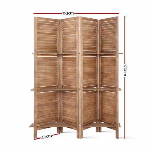Artiss Room Divider Privacy Screen Foldable Partition Stand