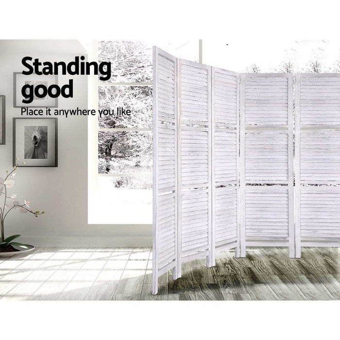 Artiss Room Divider Screen 8 Panel Privacy Foldable Dividers