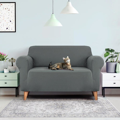 Artiss Sofa Cover Elastic Stretchable Couch Covers Grey 2