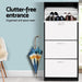Artiss Wooden Shoe Cabinet - Furniture > Living Room