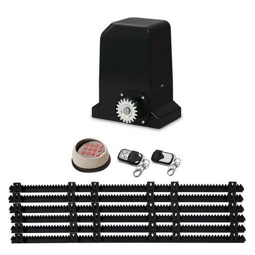 Auto Electric Sliding Gate Opener 1000KG Keypad 6M Rails