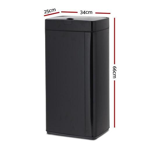 Automatic Motion Sensor Kitchen Rubbish Bin 45L goslash fast delivery fast delivery