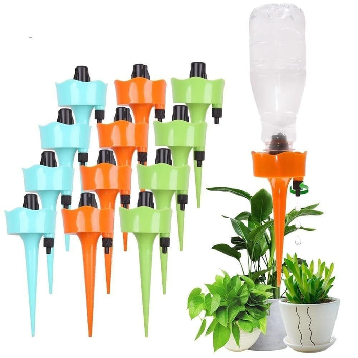 Automatic Watering Spikes System for Home Plants