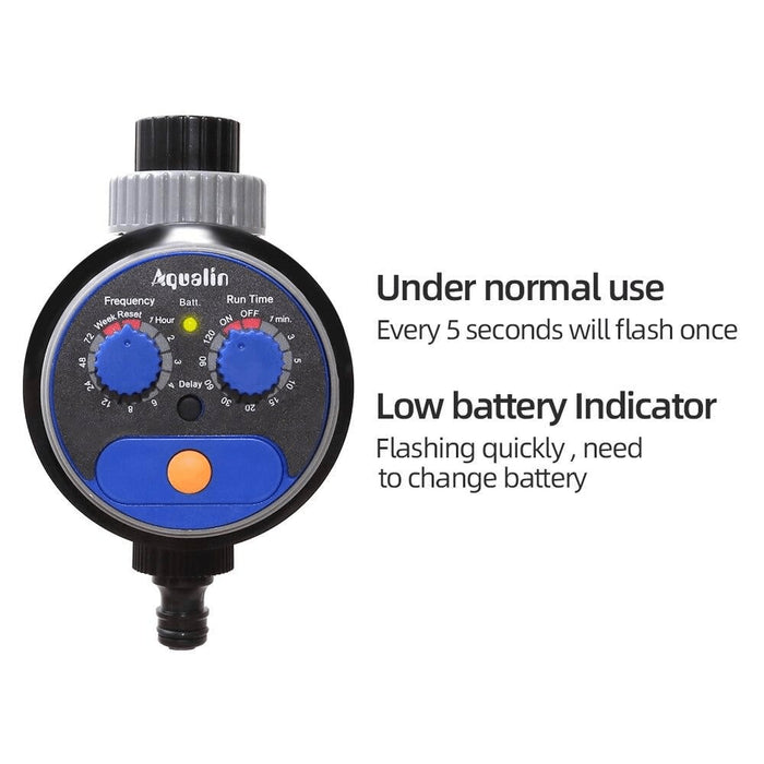 Automatic Watering Timer Upgraded Version Controller System