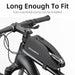 ROCKBROS Bicycle Bag Rainproof Top Front Tube Parcel Big