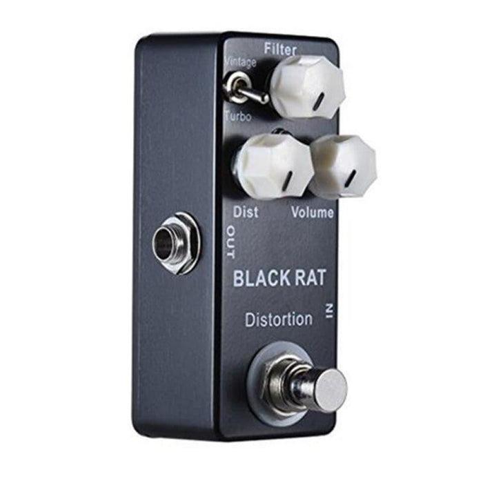 MOSKY Black RAT Distortion Mini Guitar Effect Pedal True Bypass Guitar Parts & Accessories