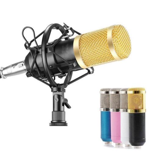 BM800 Professional Condenser Microphone Studio Broadcasting Singing Microphone Audio Recording Mic