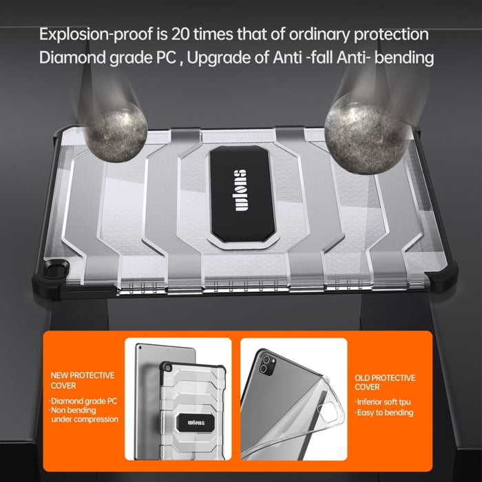 Full-Body Rugged Shield Cover for Apple iPad 10.2 2019 A2197