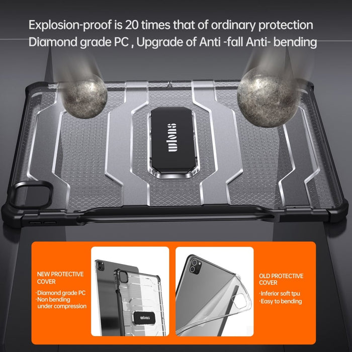Full-Body Rugged Shield Cover for Apple iPad Pro 12.9 2021