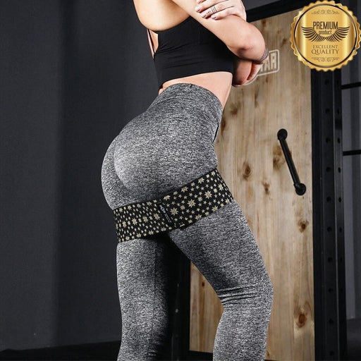 INNSTAR Booty Band Hip Resistance Women Workout Band Fabric Loop Circle gym home workout equipments Yoga hip thrusts training