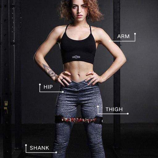 INNSTAR Booty Resistance Bands Fitness Hip Loop Elastic Strap  Butt Leg Squat Trainer Pilates Home Gym Yoga epuipment Workout