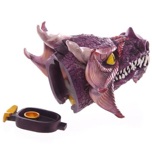 Magical Fire Breathing Dragon Head Incense Burner Holder for Scented Cones Vertical Dragon Head Incense Cone Burner Ashcatcher