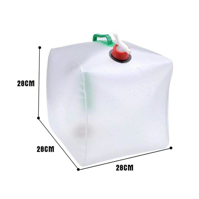 Built In Tap 20L Collapsible Water Container goslash fast delivery fast delivery