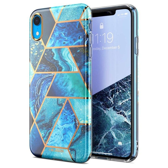 Bumper Marble back Case for Iphone Xr 6.1 Inch (2018