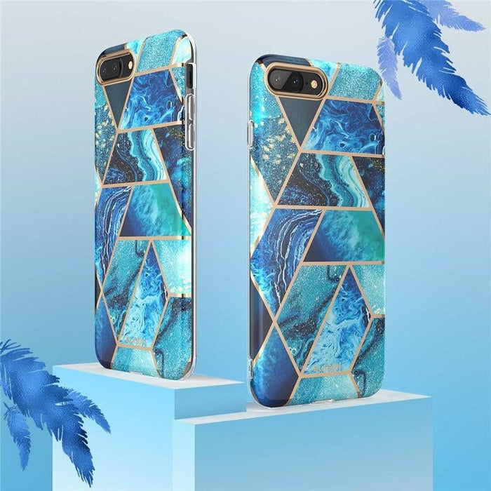 Bumper Marble Cover for Iphone 7plus 8plus without Built-in Screen Protector